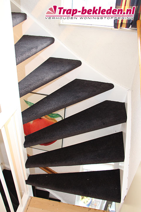 Hoeveel meter vloerbedekking voor een trap bouwmaterialen for Hoeveel kost een nieuwe trap